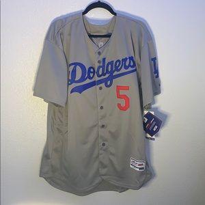 Men's Authentic Dodgers Corey Seager Jersey